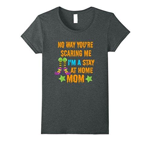 Stay At Home Mom Costume For Halloween (Womens Halloween Funny Costume T-Shirt for Best Stay at Home Moms Medium Dark Heather)