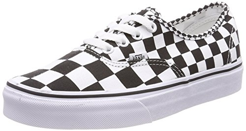 clearance authentic big sale online Vans Authentic Mix Checker Unisex Trainers Black / True White discount amazing price i9Qdw
