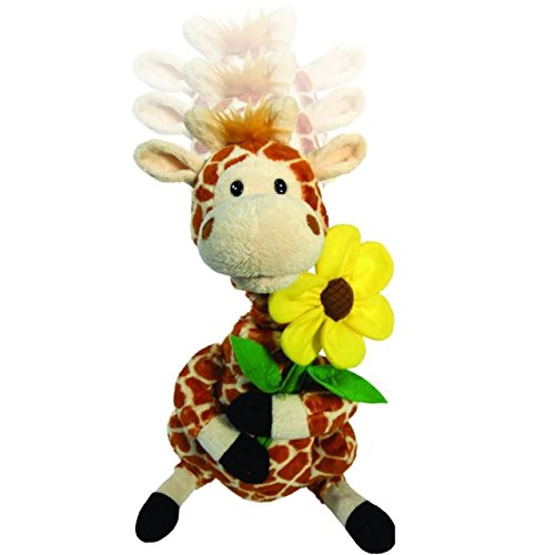 "Cuddle Barn Gerry The Giraffe Animated Singing Musical Plush Toy, 12"" Super Soft Cuddly Stuffed Animal, Neck Stretches and Grows Taller While he Sings ""(Your Love Lifts Me) Higher & ()"