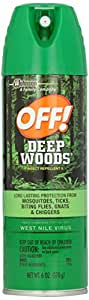 Off! Deep Woods Insect Repellant Aerosol Spray-6 oz.