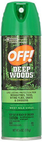 Off  Deep Woods Insect Repellant Aerosol Spray 6 Oz