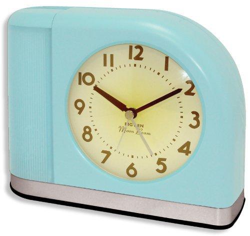 n Moonbeam Aqua Blue Alarm Clock ()