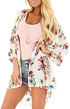 Adoeve Women's Casual Cardigan Loose Sun Protection Clothing Cover-Up