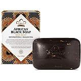 لوح صابون أسود أفريقي مع الشوفان وخلاصة الصبار من نوبيان هيرتيج، 150 مل