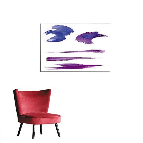 - homehot Wallpaper Texture of The Brush Stroke Mural 36