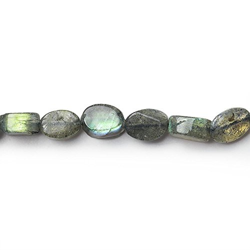 5x3-7x5mm Labradorite Plain Oval Beads 13 inch 54 beads