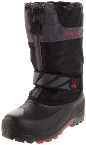 Kamik Snowday Cold Weather Boot (Toddler/Little Kid/Big Kid),Black,11 M US Little Kid