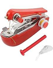 Máquinas de coser de mano Mini máquina de coser portátil para cortinas, ropa, artesanía y viajes a domicilio