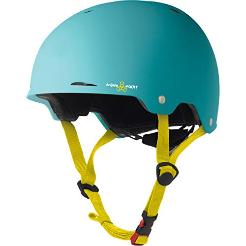 Triple Eight Gotham Dual Certified Skateboard and Bike Helmet, Baja Matte, Small / Medium