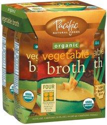 Organic Vegetable Broth -Pack of 6