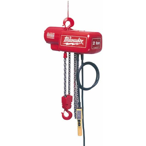 1/2 Ton Hoist - Milwaukee 9561 Hoist, 1/2 Ton/15'