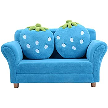 Amazon Com Keet Homey Vip Organic Kid S Sofa Navy Blue Baby