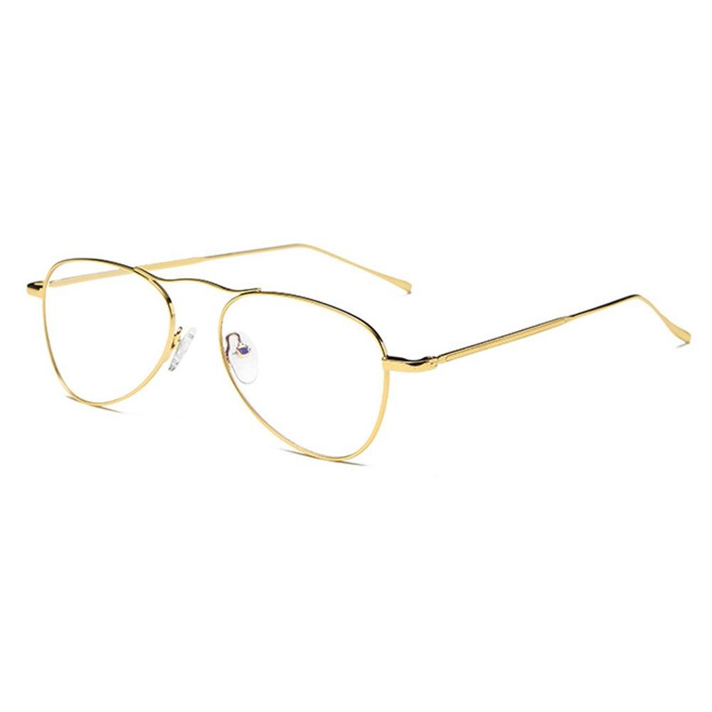 Anti Blue Light Eyeglasses Clear Lens Glasses Geek/Nerd Retro Glasses Frame for Men Women Highdas X170910YJJ1001