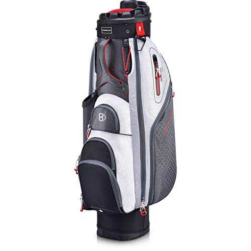 Bennington Quiet Organizer 9 Lite Cart Bag Canon Grey/White