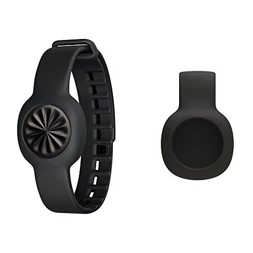 Jawbone UP Move Bluetooth-Aktivitäts/Schlaftracker mit Clip und Armband schwarz für iOS/Android