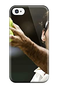 New Style Waterdrop Snap-on Roger Federer Case For Iphone 4/4s