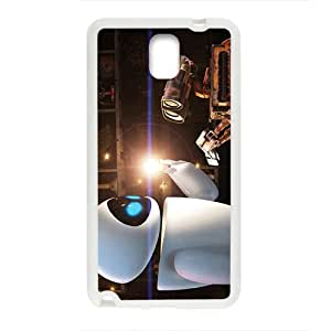 Happy wall-e and eve wide Case Cover For samsung galaxy Note3 Case