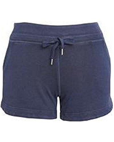 Green Tea Women's Enzyme Wash Casual Short (X-Large, Indigo) by Unknown