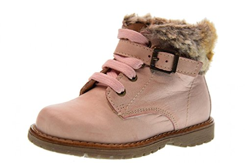 NERO GIARDINI Schuhe Junior-Boot mit A722820F / Fell 656 (20-22) Pink