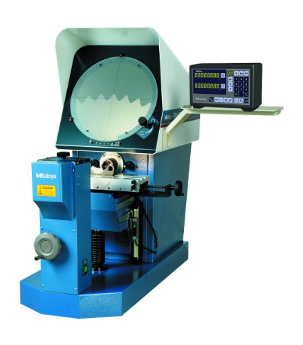 (Mitutoyo 64PKA086 PH-A14 Optical Measuring Horizontal Profile Projector with KA Counter and Tray, 10x Projection Lens)