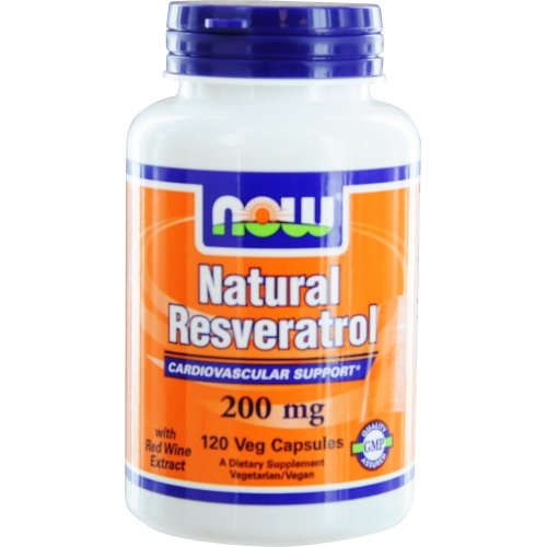 NOW Natural Resveratrol Cardiovascular Support product image