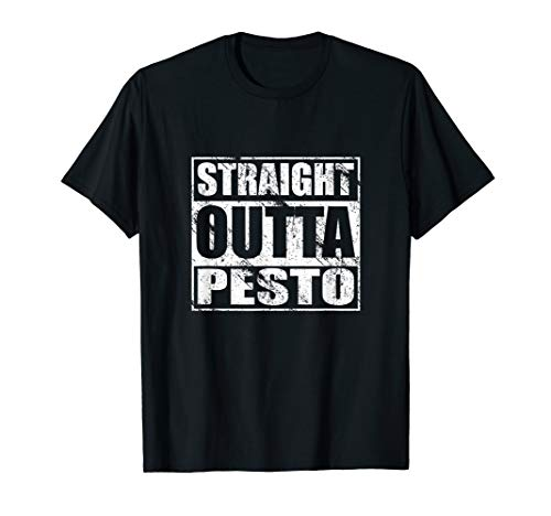 Straight Outta Pesto Shirt for Lovers of Italian Food Basil