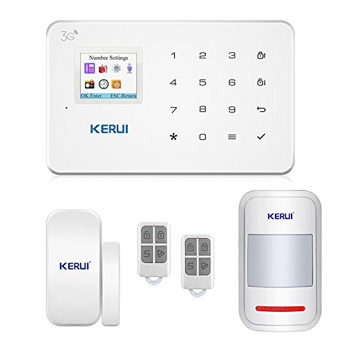 Wired alarm system amazon gsm 3g alarm system kit kerui g183 wireless wcdma diy home and business security system auto dial easy to install security alarm system app control and solutioingenieria Image collections