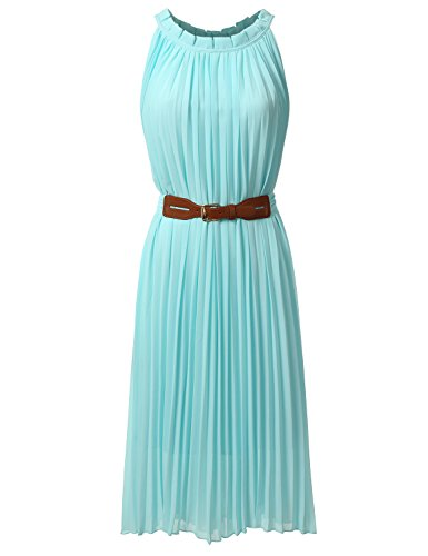 Bohemian Queen Pleated Halter Chiffon product image