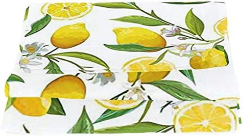 暖簾 間仕切り レモンパターン エキゾチック おしゃれ インテリア 雰囲気 上質 断熱 目隠し 通気性 高級感 キッチン 引越しプレゼント