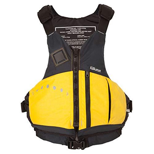 (Kokatat UL Aries Yellow PFD Life Vest,)