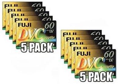 f/ür die Aufnahme HDV 10er Pack Fuji DVM60AME Magnetics MiniDV60 Mini Digital Video