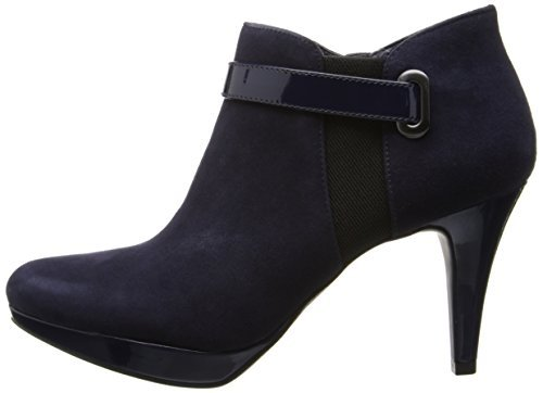 navy blue ankle boots - 7