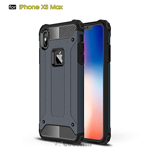 Cocomii Commando Armor iPhone XS Max Case NEW [Heavy Duty] Premium Tactical Grip Dustproof Shockproof Hard Bumper Shell [Military Defender] Full Body
