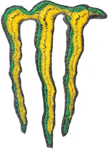 モンスターエナジー MONSTER ENERGY 刺繍 アイロンワッペン 5.5cm x 7.8cm [並行輸入品]