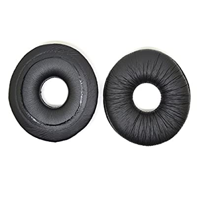 Panasonic Technics RP DJ1200, DJ1210 Headphone Replacement Ear Pad / Headset Cushion Parts (Black)
