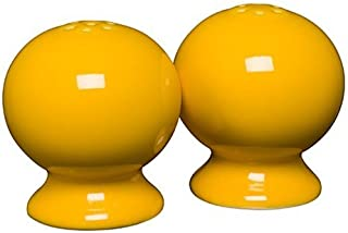 product image for Homer Laughlin Classic Fiesta Salt and Pepper Shaker Set, Daffodil