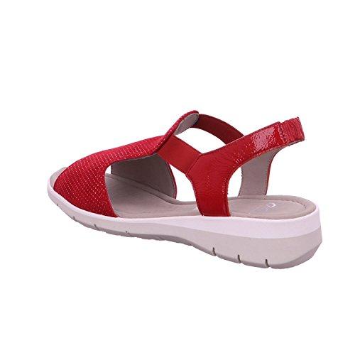 Ara 12-36017 Lido-Sand mujer sandalia ROT,ROSSO