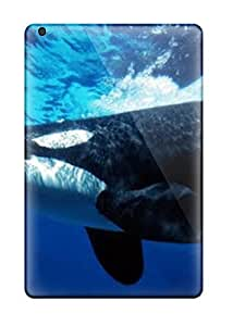 Awesome Whale Animal Flip Case With Fashion Design For Ipad Mini/mini 2