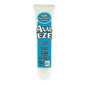 Anal ease lubricant