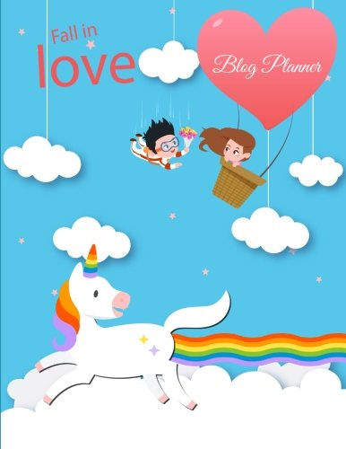 Fall In Love: Blog Planner: Blue Sky