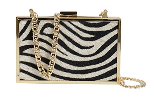 Womens White for HXLPA7 Box Clutch Black 200 Cavalli Roberto xzAI88
