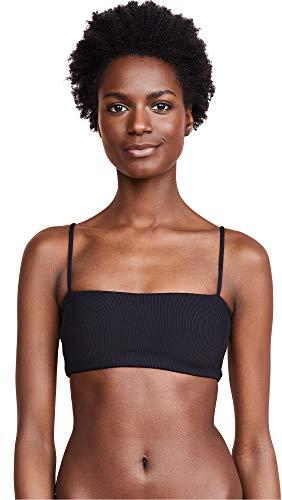 LSpace Women's Rebel Bikini Top, Black, Small