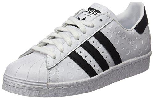 Adidas Dame Superstar 80s GymnastikSko Elfenbein (hvid Fodtøj / Kerne Sort / Fodtøj Hvid) Mp1kSfIsa8