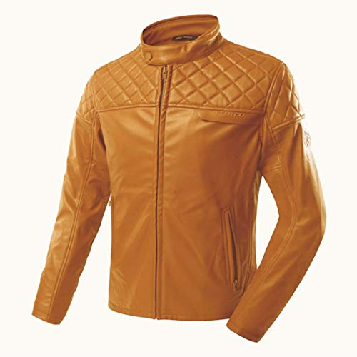 Moeezmart Latest Motorcycle Leather Jacket Windproof Motorbike