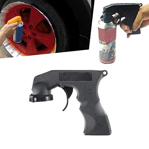Caxmtu 1Pc Aerosol Spray Can Handle with Full Grip Trigger for Painting