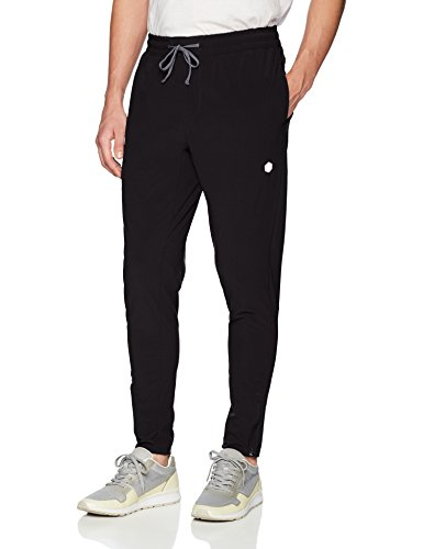 ASICS Men' Woven Track Pant, Performance Black, Medium