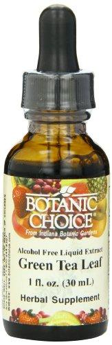 Botanic Choice extrait liquide, le thé vert, une once liquide