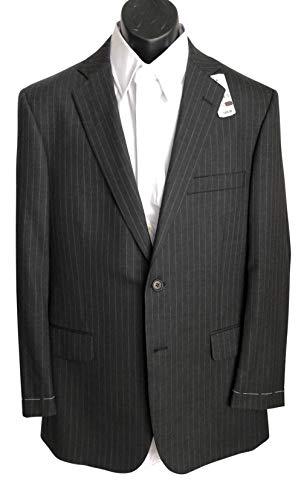 (Brooks Brothers Grey Pinstripe Suiting Essentials Jacket 40 R)