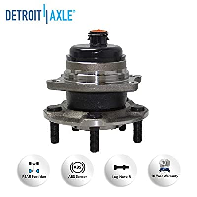 Detroit Axle 512169 Rear Wheel Hub and Bearing Assembly Replacement For 2001-2007 Dodge Caravan Grand Caravan Town and Country Voyager: Automotive