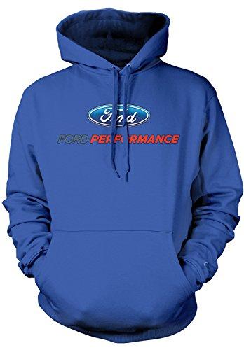 Amdesco Men's Ford Performance Logo, Officially Licensed Hoo